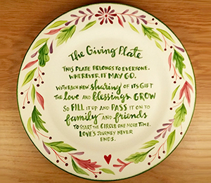 Henderson The Giving Plate