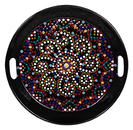 Henderson Mosaic Mandala Tray