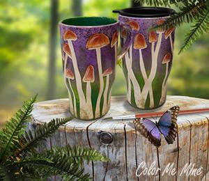 Henderson Mushroom Mugs
