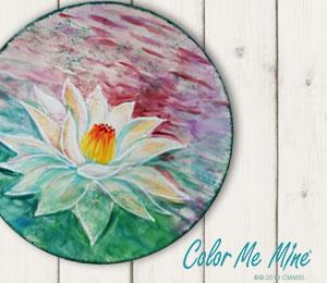 Henderson Lotus Flower Plate